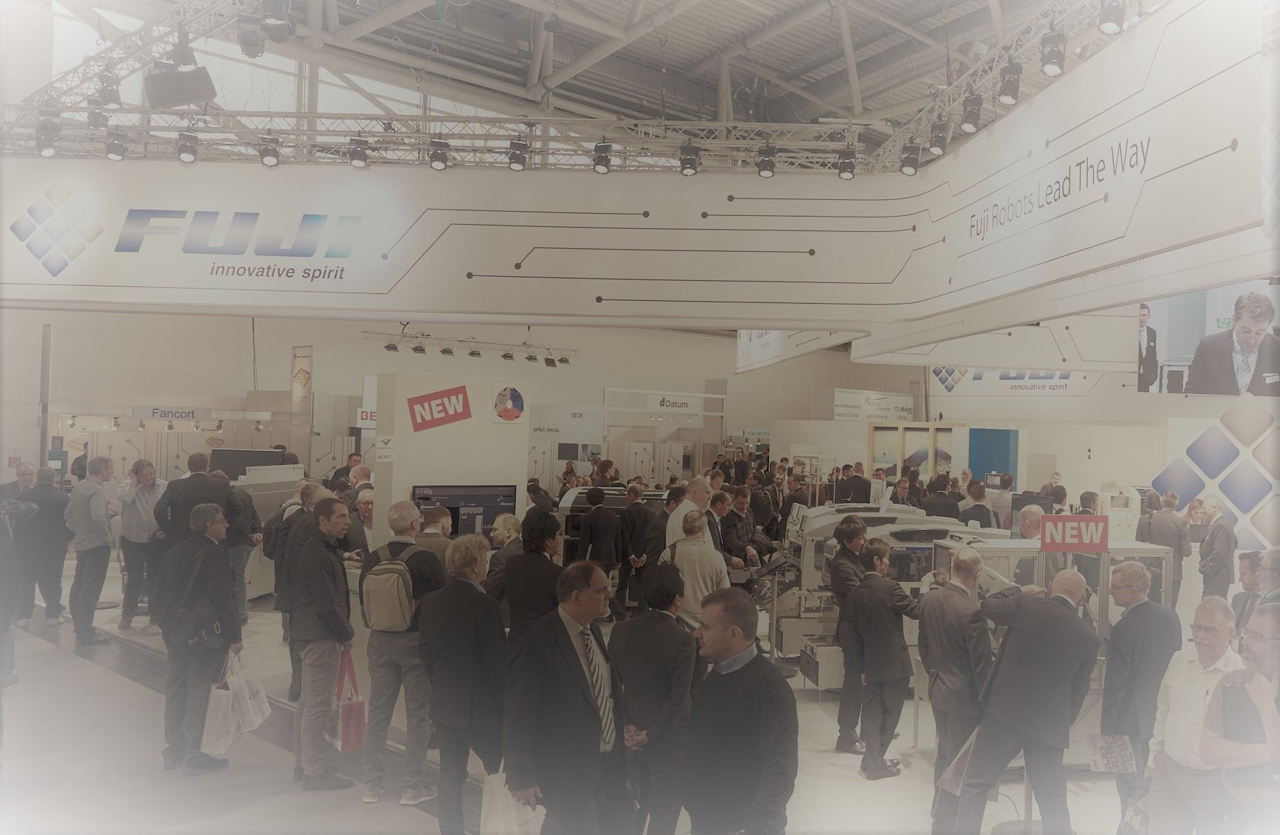 productronica 2017_ Fuji booth 3