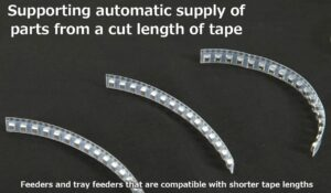 cutted tape handling