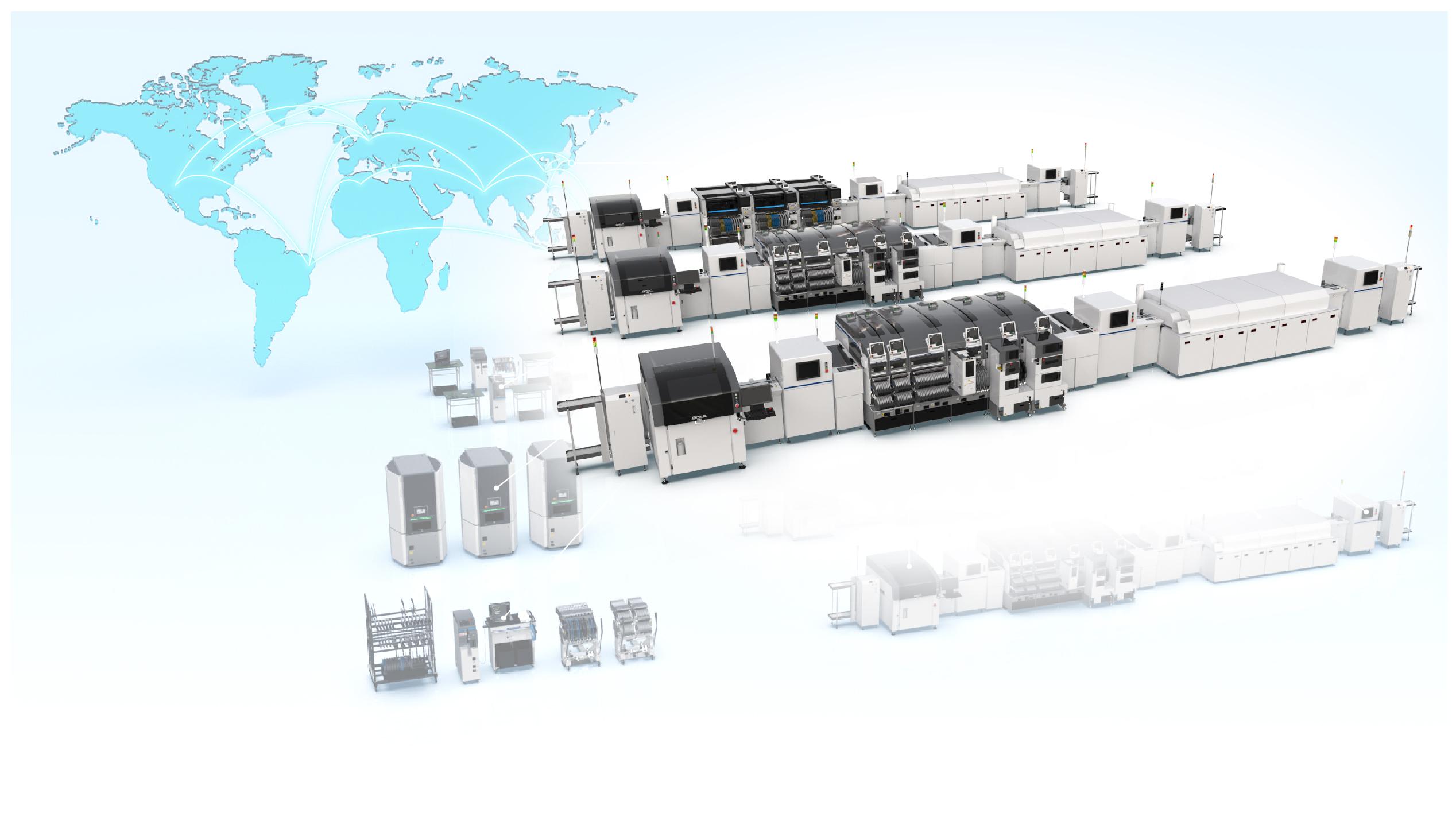 Assemblaggio circuiti stampati